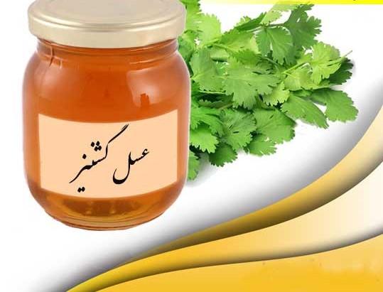 عسل گشنیز انواع عسل طبیعی